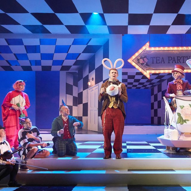 Alice in wonderland play